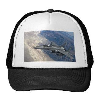 F-15 huelga Eagle Gorros Bordados