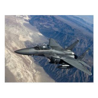 F-15 huelga Eagle Postales