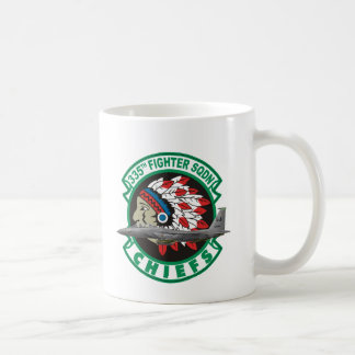 F-15 Strike Eagles 335th Fighter Squadron Coffee Mug