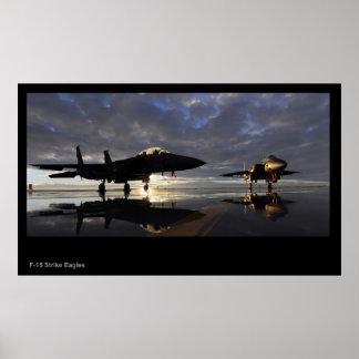 F-15 Strike Eagles poster