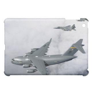 F-15B Eagles escort the first Hawaii-based C-17 Case For The iPad Mini
