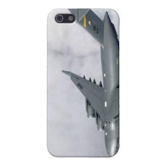 F-15B Eagles escort the first Hawaii-based C-17 Cover For iPhone SE/5/5s