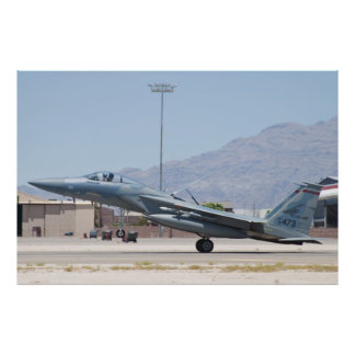 F-15C Eagle AF 78 473 que aterrizan Posters