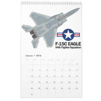 F-15C Eagle Calendar