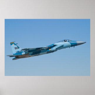F-15C Eagle WA AF 78 0515 65 Poster