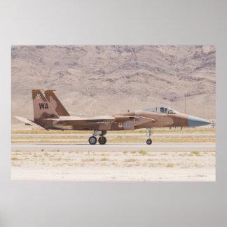 F-15C Eagle WA AF 78 538 Póster