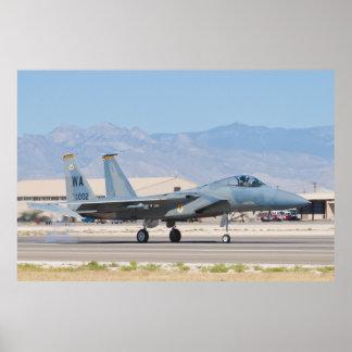 F-15C Eagle WA AF 80 002 Poster