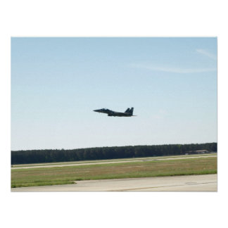 F-15E from Seymour Johnson AFB, N.C. Poster