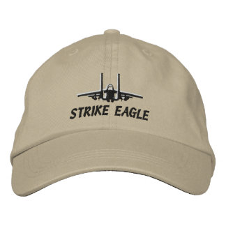 F-15E Golf Hat Embroidered Baseball Caps