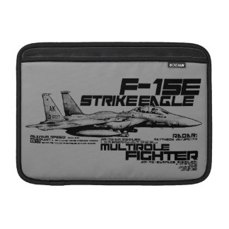 "F-15E Strike Eagle  11"" Macbook Air Sleeve"