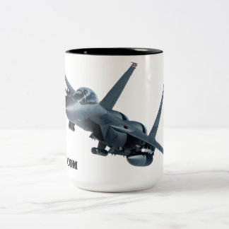 F-15E Strike Eagle Drinkware Two-Tone Coffee Mug