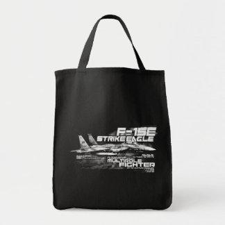 F-15E Strike Eagle  Grocery Tote