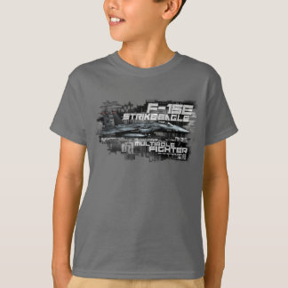 F-15E Strike Eagle  Kids' Basic Hanes Tagless Com T-Shirt