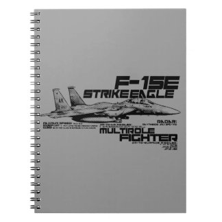 F-15E Strike Eagle  Photo Notebook (80 Pages B&W)
