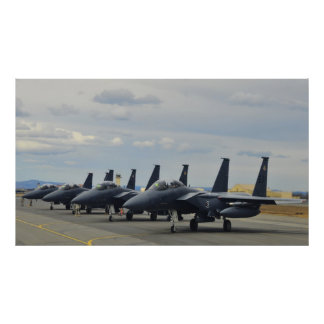 F-15E Strike Eagles Poster