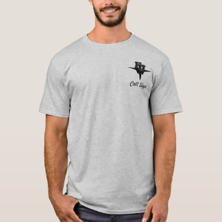 F-15E w/FU High Tech Eagle - Light colored T-Shirt