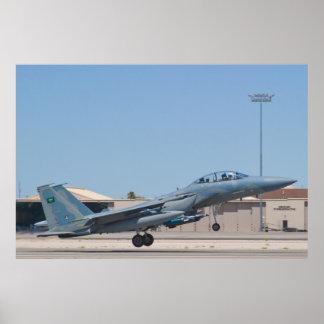 F-15S Eagle 9205 Royal Saudi Air Force Poster
