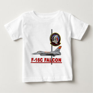 F-16 272nd Tactical Fighter Wing Baby T-Shirt