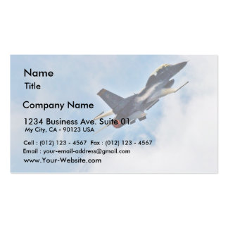F 16 At The Miramar Airshow In San Diego Business Card
