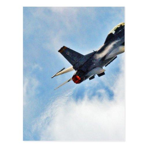 F 16 At The Miramar Airshow In San Diego Postcard