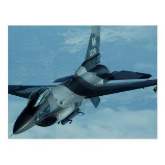 F-16 Eagle Postcard