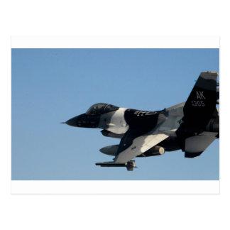 F-16 FALCON IN CAMO POSTCARD