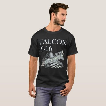 USA Themed F-16 Falcon T-Shirt