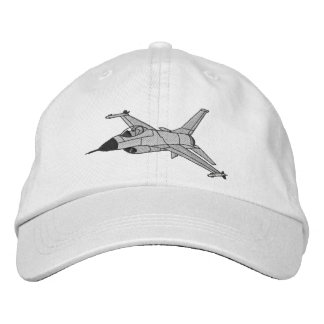 F-16 Fighter Embroidered Hat