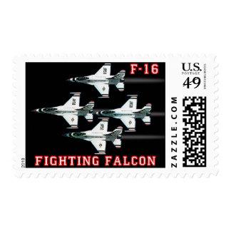 F-16 Fighter Jet Postage