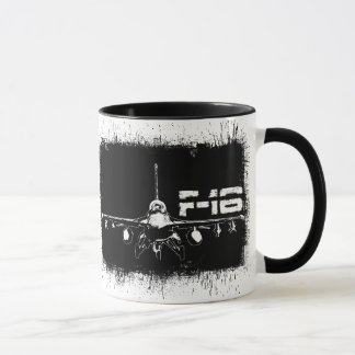 F-16 Fighting Falcon 11 oz Ringer Mug
