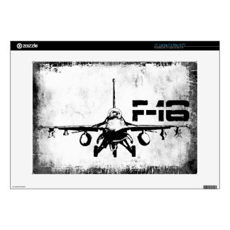 """F-16 Fighting Falcon 15"""" Laptop For Mac & PC Skin Decal For Laptop"""