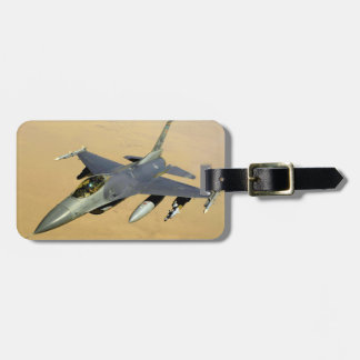 F-16 Fighting Falcon Block 40 aircraft Tags For Bags