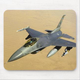 F-16 Fighting Falcon Block 40 aircraft Mousepad