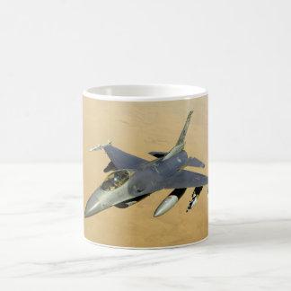 F-16 Fighting Falcon Block 40 aircraft Classic White Coffee Mug