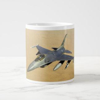F-16 Fighting Falcon Block 40 aircraft 20 Oz Large Ceramic Coffee Mug