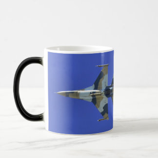 F-16 Fighting Falcon Electric Jet Bingo Fuel Magic Mug