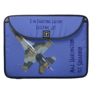 F-16 Fighting Falcon Electric Jet Sleeve For MacBooks
