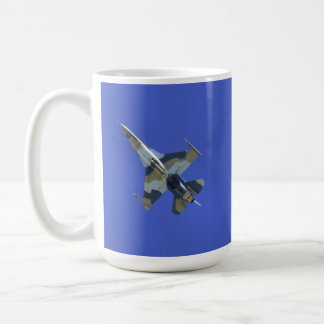 F-16 Fighting Falcon Electric Jet Classic White Coffee Mug
