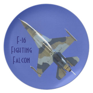 F-16 Fighting Falcon Electric Jet Plates