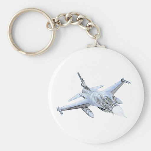 F-16 Fighting Falcon Key Chain