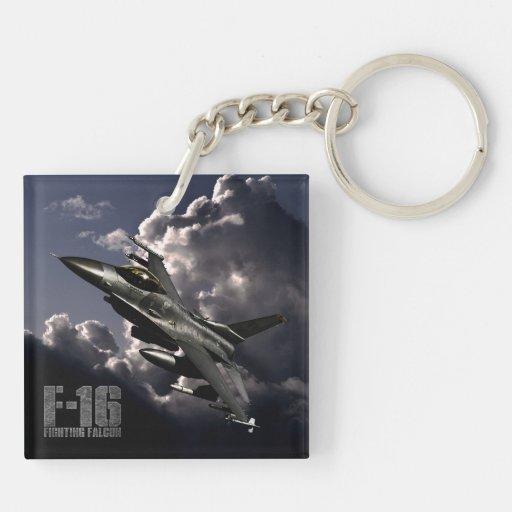 F-16 Fighting Falcon Acrylic Keychain