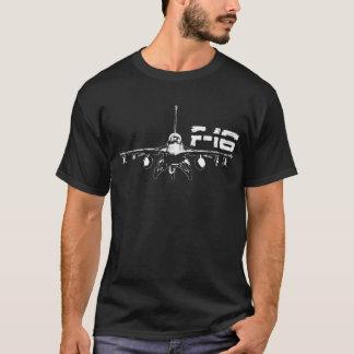 F-16 Fighting Falcon Men's Basic Dark T-Shirt