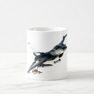 F-16 Fighting Falcon Classic White Coffee Mug