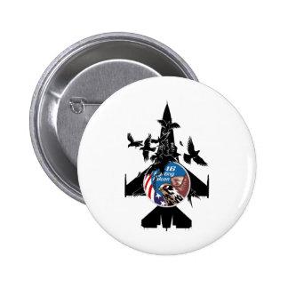 F-16 Fighting Falcon Pinback Button