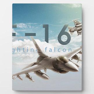 F-16 Fighting Falcon Plaque
