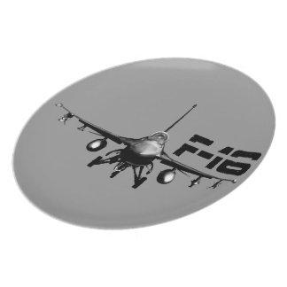 F-16 Fighting Falcon Plates