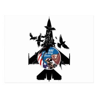 F-16 Fighting Falcon Post Card