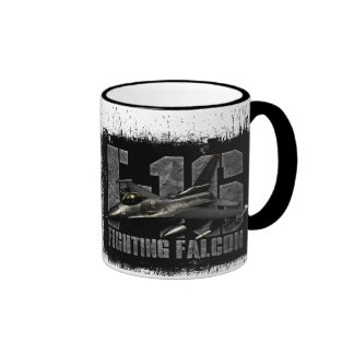 F-16 Fighting Falcon Ringer Mug