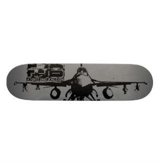 F-16 Fighting Falcon Skateboard Deck