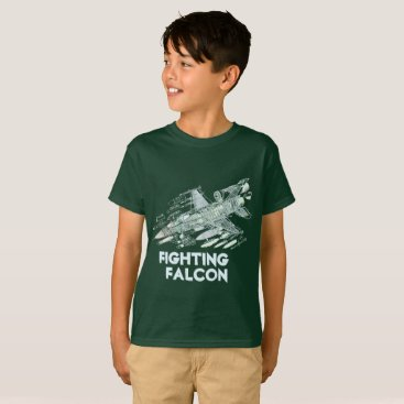 USA Themed F-16 Fighting Falcon T-Shirt